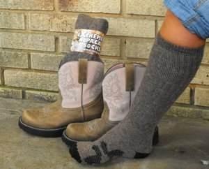 Extreme Alpaca Tall Boot Socks