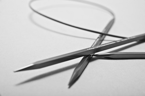 Kollage Square Needles – Circular Firm Cable